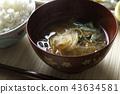 된장국, 일식, 일본 요리 43634581