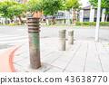 亚洲中国台湾台北街道号志交通路标行人法律 43638770