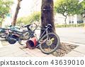 亚洲中国台湾台北街道号志交通路标行人法律自行车单车脚踏车 43639010