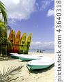 tropical seaview at Kapas Island, Malaysia 43640318
