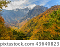 Landscape of Tanigawadake in autumn 43640823