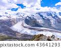 Gorner Glacier來自瑞士的Gornergrat天文台 43641293