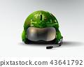 pilot jet marines helmet  aviator vector 43641792