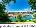 老伯爾尼Townscape在瑞士 43642069