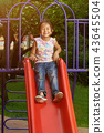 playground, girl, child 43645504