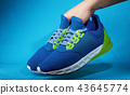 shoes, hand, sneakers 43645774