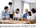 family, household, three generations 43647130