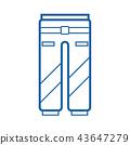 Sport Pants Icon 43647279