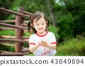 儿童女孩儿童游乐场花园动物园 43649694