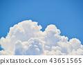 뭉게구름, 구름, 푸른 하늘 43651565