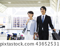 Business airport businessman business trip 43652531