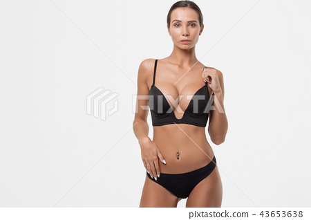f72968c08b0 Sexy lady in underwear - Stock Photo  43653638  - PIXTA
