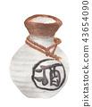 Sake bottle, Japanese liquor 43654090