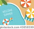 夏天的插圖 43656599