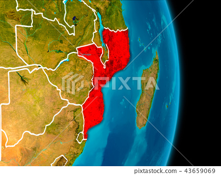Mozambique on Earth 43659069