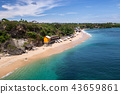 Seascape beautiful at Bali in summer holiday. 43659861