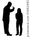 Conflict between father and teenage daughter 43662685