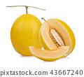 哈密瓜 水果 甜瓜 43667240