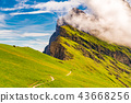 dolomites,green,hill 43668256