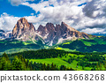 dolomites,green,hill 43668268
