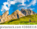alps,dolomites,evening 43668316