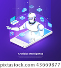 Isometric artificial intelligence AI 43669877