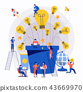 Teamwork creative advertising 43669970