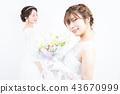 新娘 婚礼 新娘图 43670999