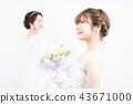 新娘 婚礼 新娘图 43671000