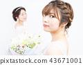 新娘 婚礼 新娘图 43671001
