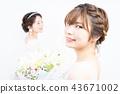 新娘 婚礼 新娘图 43671002