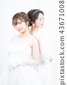 新娘 婚礼 新娘图 43671008