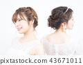 新娘 婚礼 新娘图 43671011