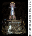 Tsutenkaku Night view 43676597