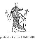 Anubis in The Netherworld 43680588