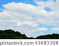 sky, calm, quiet 43683308