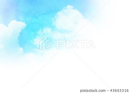 배경 소재 하늘 텍스처 43683316