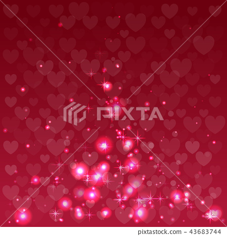 Abstract background for Valentine Day. 43683744