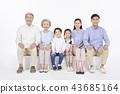大家庭,家庭,韩国人 43685164