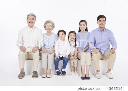 大家庭,家庭,韓國人 43685164