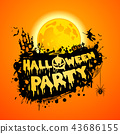 Happy Halloween Party Poster 43686155