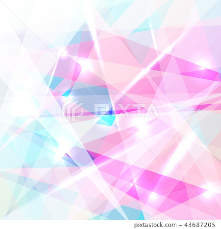 Abstract geometric colorful background lighting 43687205