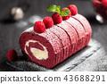 树莓 覆盆子 薄荷 43688291