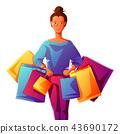girl beautiful clothe 43690172