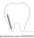 牙科 工具 器具 43690899