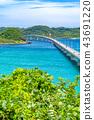 Scenery around the Tsunoshima Ohashi Bridge (August 2018) Mainland Side 43691220