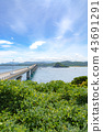 Landscape around the Tsunoshima Ohashi Bridge (August 2018) Tsunoshima 43691291