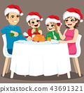 Family Christmas Dinner 43691321
