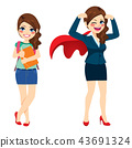 Super Business Woman 43691324