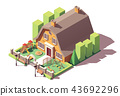 Vector isometric kindergarten 43692296